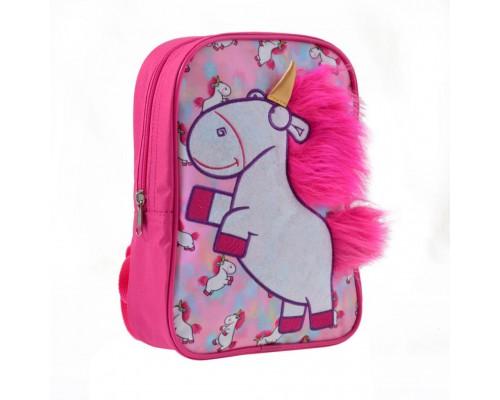Рюкзак детский Yes K-18 Minions Fluffy (557817)