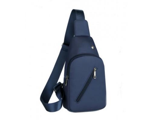 Рюкзак St. Gough (синий) через одно плечо